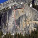 Drug Dome, Base - Black Nepalese 5.7 - Tuolumne Meadows, California USA. Click for details.