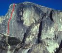 Half Dome - Regular Northwest Face 5.12 or 5.9 C1 - Yosemite Valley, California USA. Click for details.