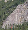 Manure Pile Buttress - Fecophilia 5.9 R - Yosemite Valley, California USA. Click for details.
