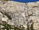 Mountaineers Dome - Pippin 5.9 R - Tuolumne Meadows, California USA. Click for details.