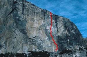 El Capitan - Zodiac A2 5.7 - Yosemite Valley, California USA. Click to Enlarge