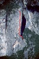 Washington Column - Skull Queen C2 5.8 - Yosemite Valley, California USA. Click to Enlarge