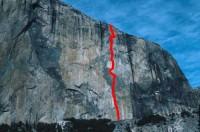 El Capitan - Zenyatta Mondatta A4 5.7 - Yosemite Valley, California USA. Click to Enlarge