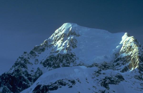Upper ridge and summit of Pk. 11300