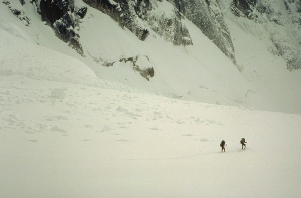 Skiing on the upper West Fork