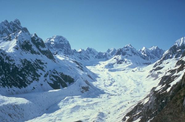 Unnamed backside glacier east of Little Switzerland