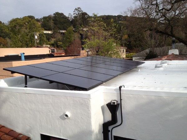 Chris Mac's solar power system