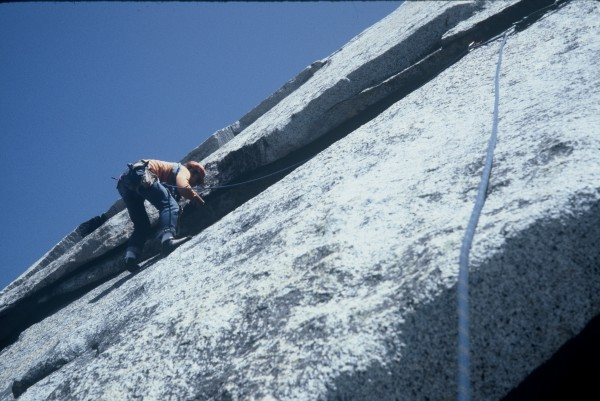 Bob Care leading the undercling pitch.
