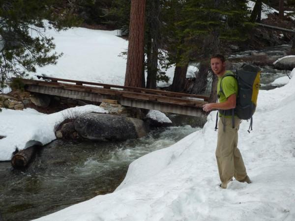 Finally!!!! The snow Creek Bridge.
