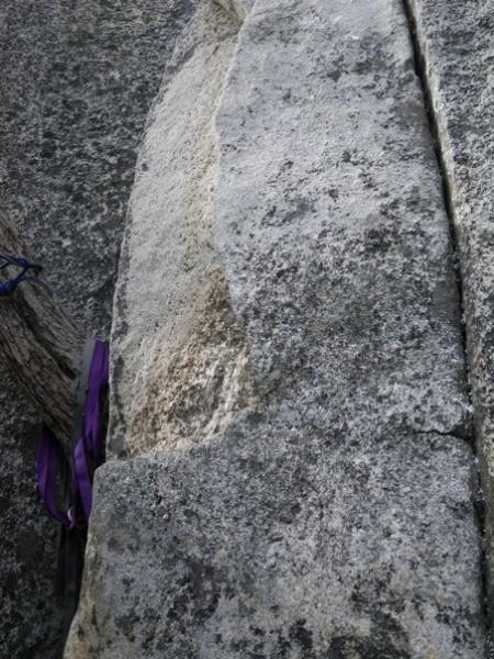 Big loose rock.