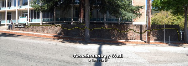 Geochronology Wall solo aid route. My trusty photographer is eating lu...