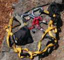 Playing Hooky from Work: A Solo Ascent of Geochronology Wall (I, C2, cl.3) - Click for details