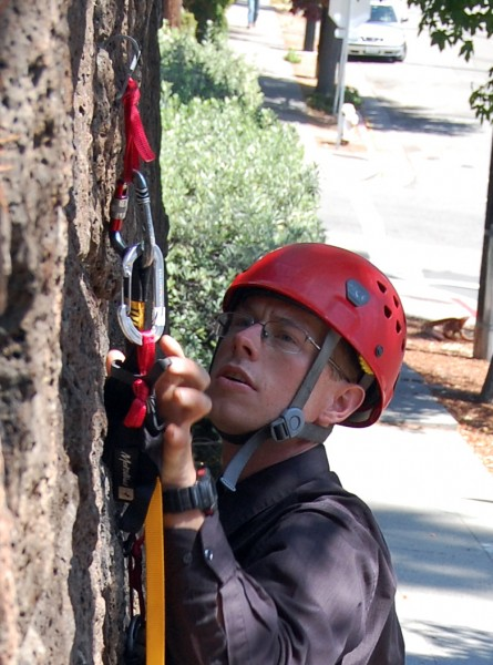 It was good I rested, because here was the hooking crux of the route!